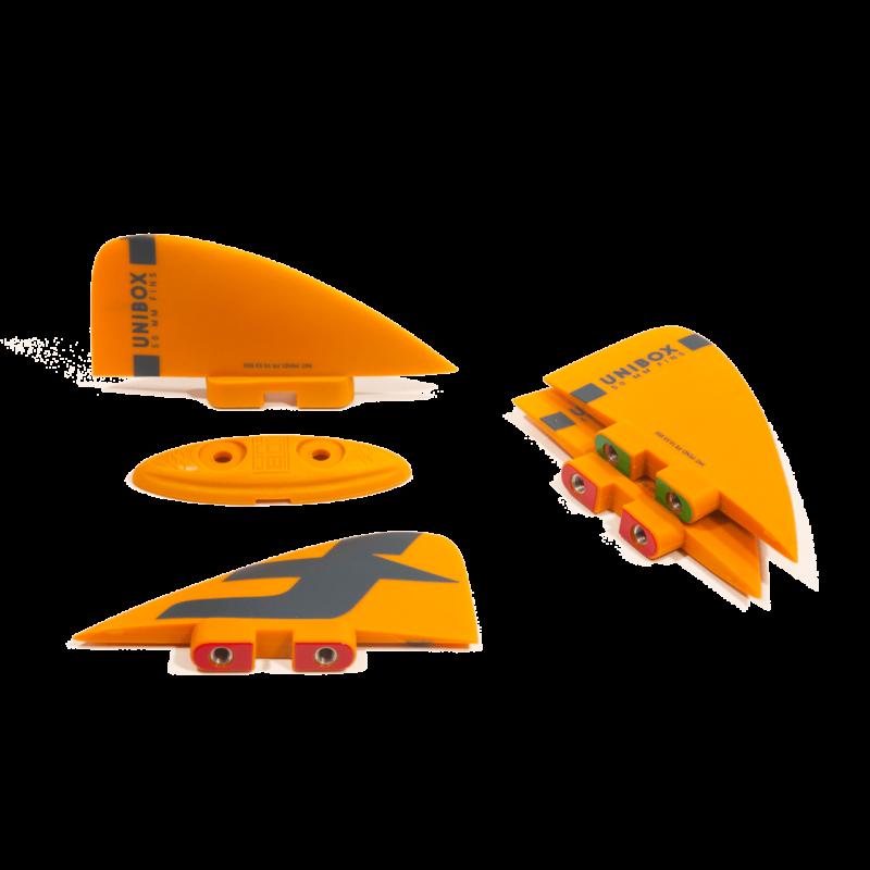 Плавники UNIBOX для твинтипа F-One