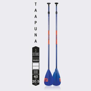 Весло F-One TAAPUNA  для SUP доски разборное из алюминия