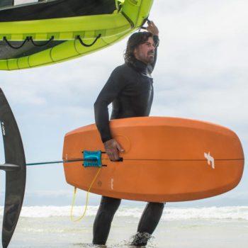 доска для серфинга с вингом f-one rocket wing