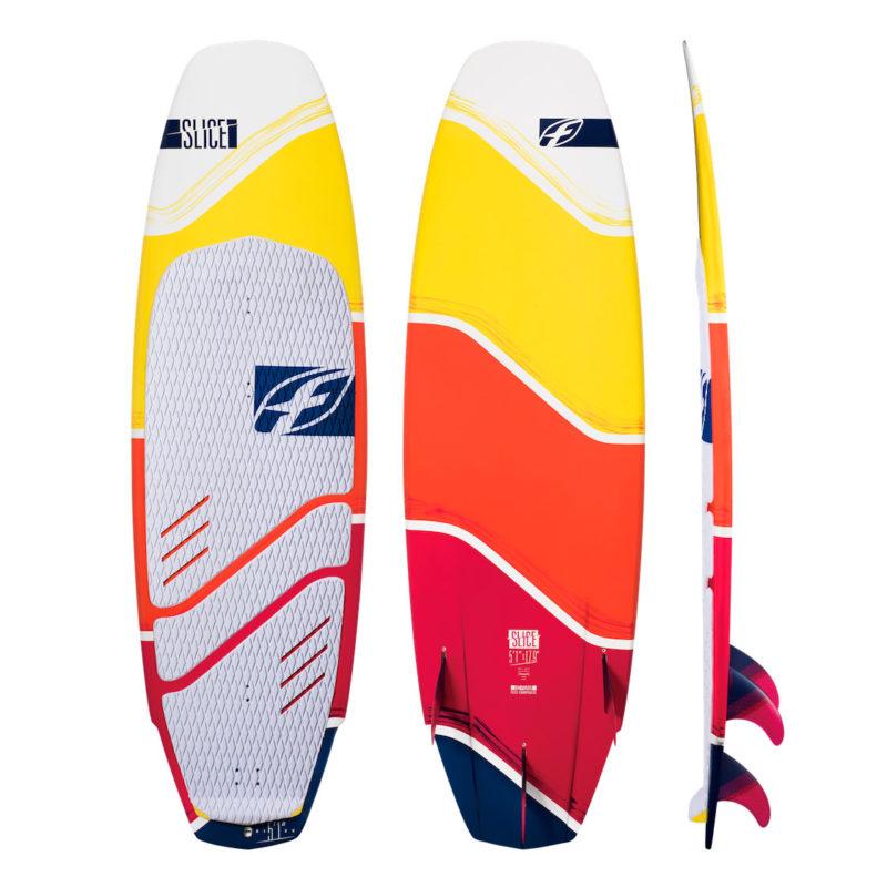 F-One SLICE серфборд для кайтинга на волнах и фристайла без петель