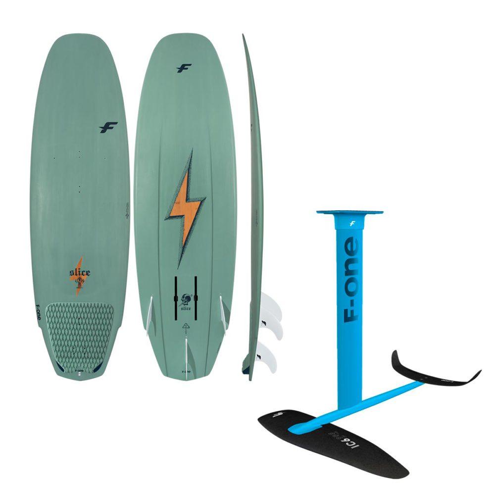 Гидрофойл комплект для кайт серфинга с доской f-one slice