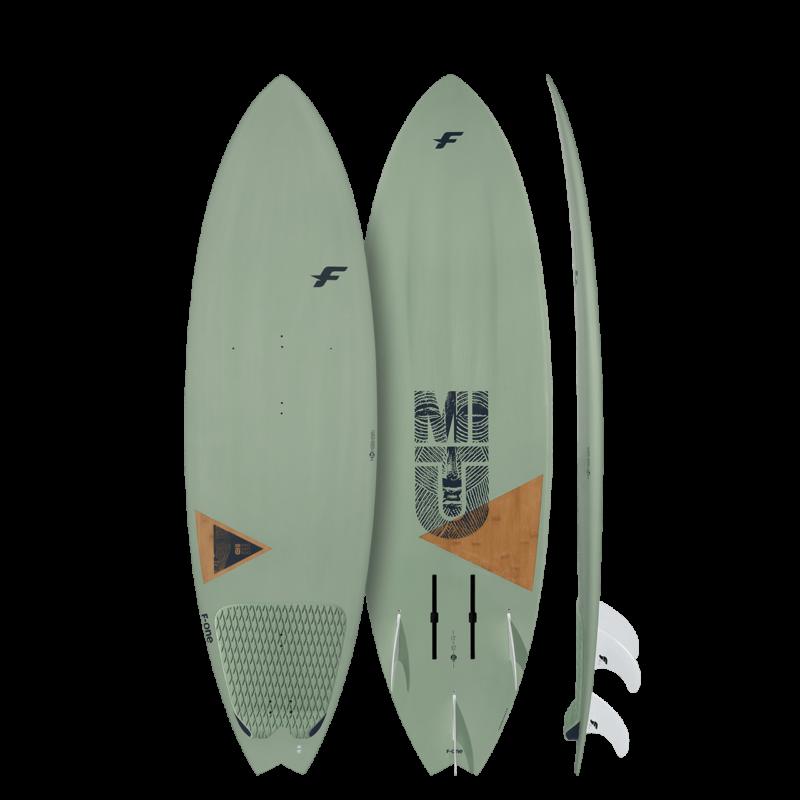 Серфборд для гидрофойла F-One Mitu Bamboo Foil